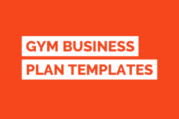 Gym Business Plan Template Tile