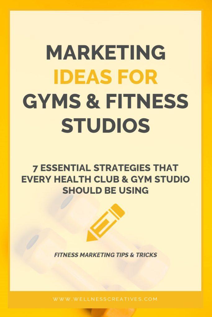 Gym Marketing Ideas Pinterest