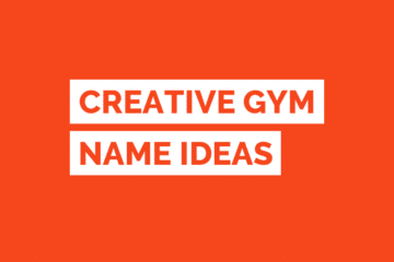 Gym Name Ideas Tile