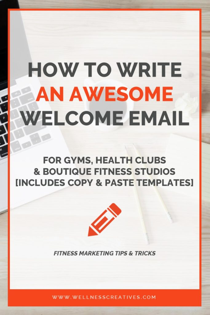 Gym Welcome Email Template Pinterest