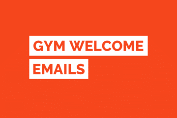 Gym Welcome Email Template Tile