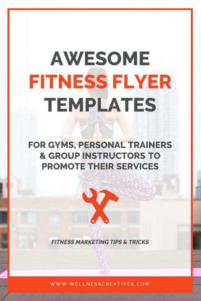 Gym Flyer Template Pinterest