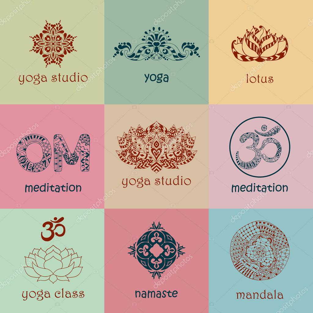 Yoga Company Logo Ideas