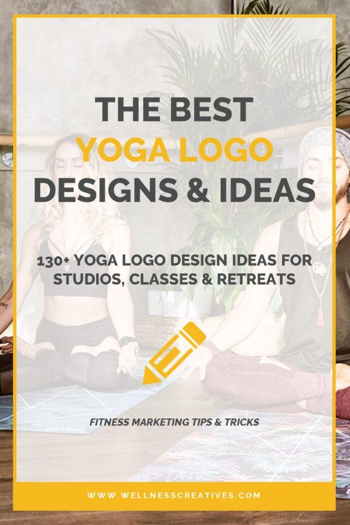 Yoga Logo Design Ideas Pinterest