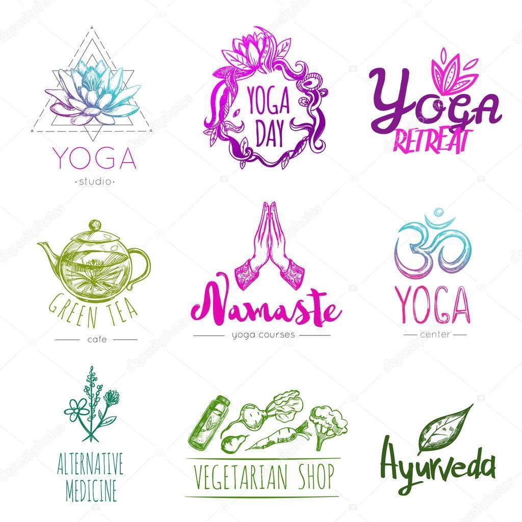 Yoga Retreat Logo Ideas