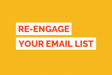 Re-engage Email List Tile