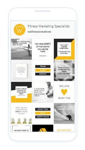 Social Media Kit Fitness Club