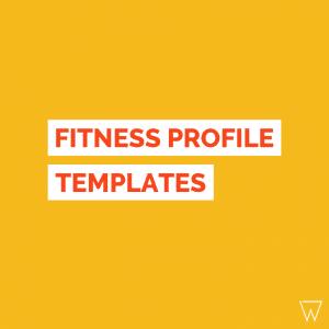 Fitness Profile Templates Tile