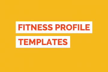 Fitness Profile Templates Tile