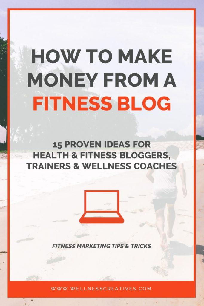 Health Fitness Blog Income Ideas Pinterest