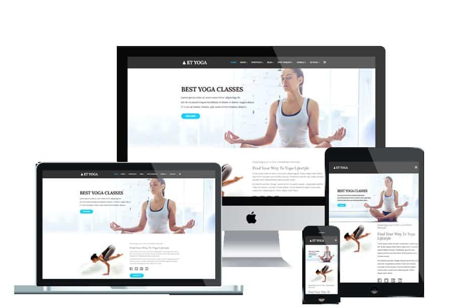 ET Yoga WordPress Theme