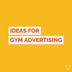 Gym Advertising Ideas Tile