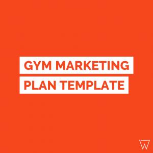 Gym Marketing Plan PDF Template Tile