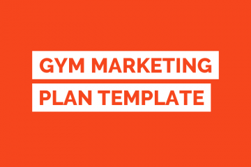 Gym Marketing Plan PDF Template Tile