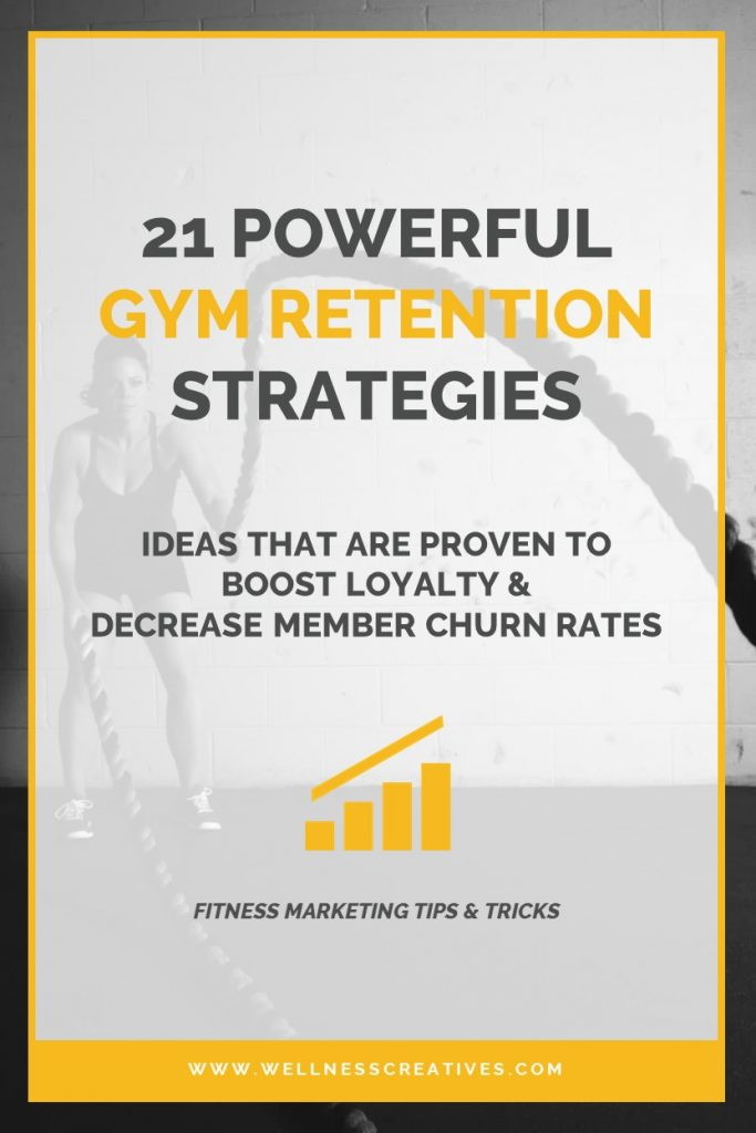 Gym Retention Ideas Pinterest