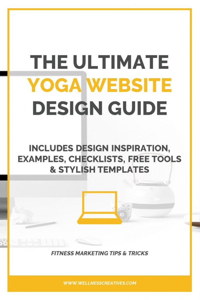 How To Design A Yoga Website Pinterest