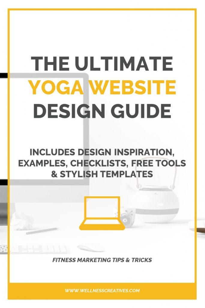 How To Design A Yoga Website Pinterest