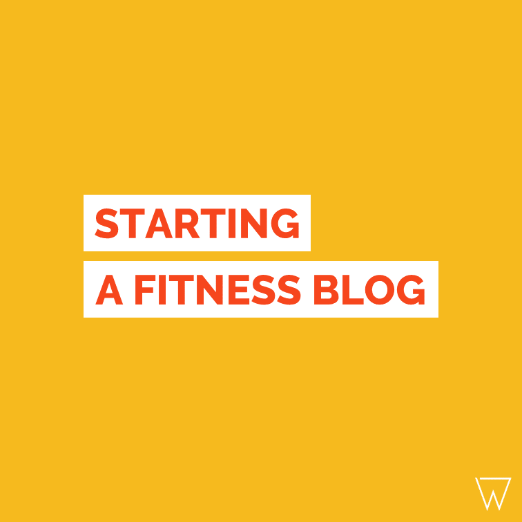How To Start A Fitness Blog Tile