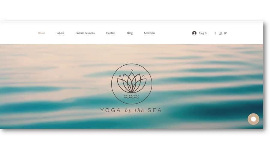 Wix Yoga Template