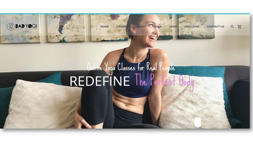Yoga Website Design Ideas