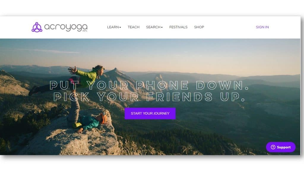 Yoga Website Design Inspiration