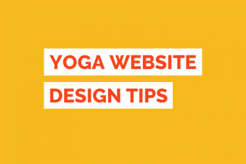 Yoga Website Design Tile