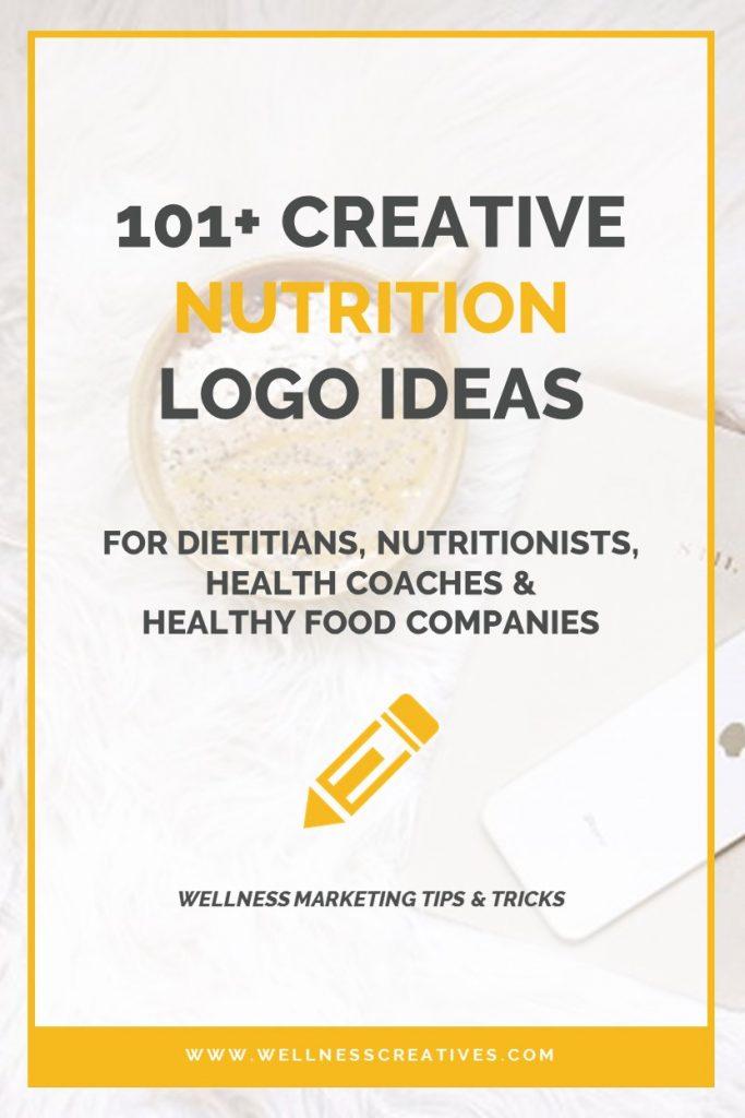 Dietitian Nutritionist Logo Ideas Pinterest