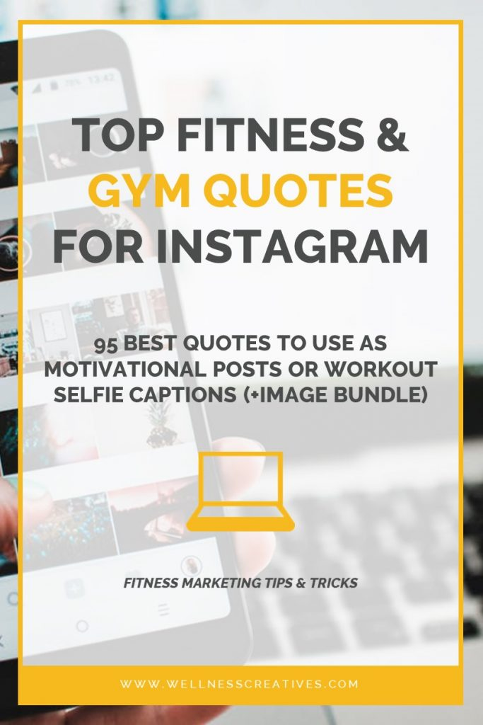 Gym Quotes For Instagram 95 Funny Fitness Captions Motivation Posts