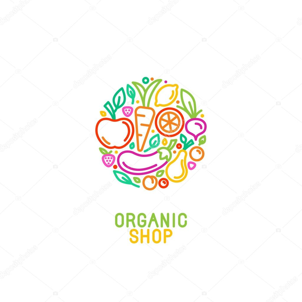 Fruit Veg Logo Design