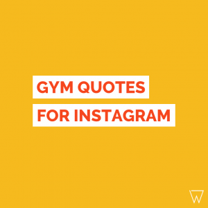 Gym Quotes For Instagram Tile