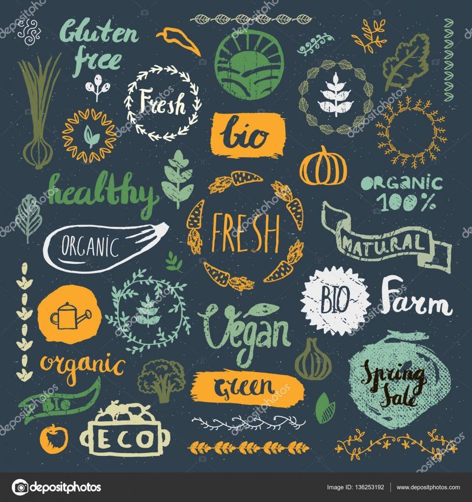Rustic Nutrition Logos