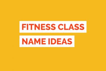 Fitness Class Name Ideas Tile