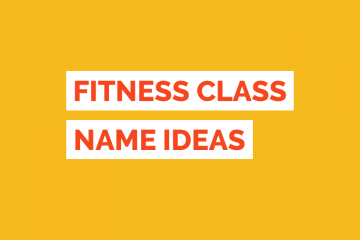 Fitness Class Name Ideas Tile