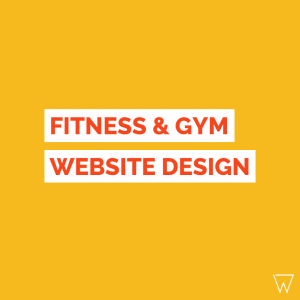 Fitness Website Design Tile