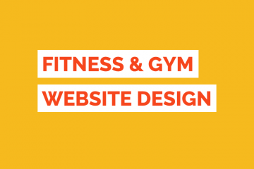 Fitness Website Design Tile