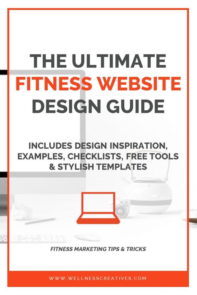 Gym Personal Trainer Website Design Pinterest