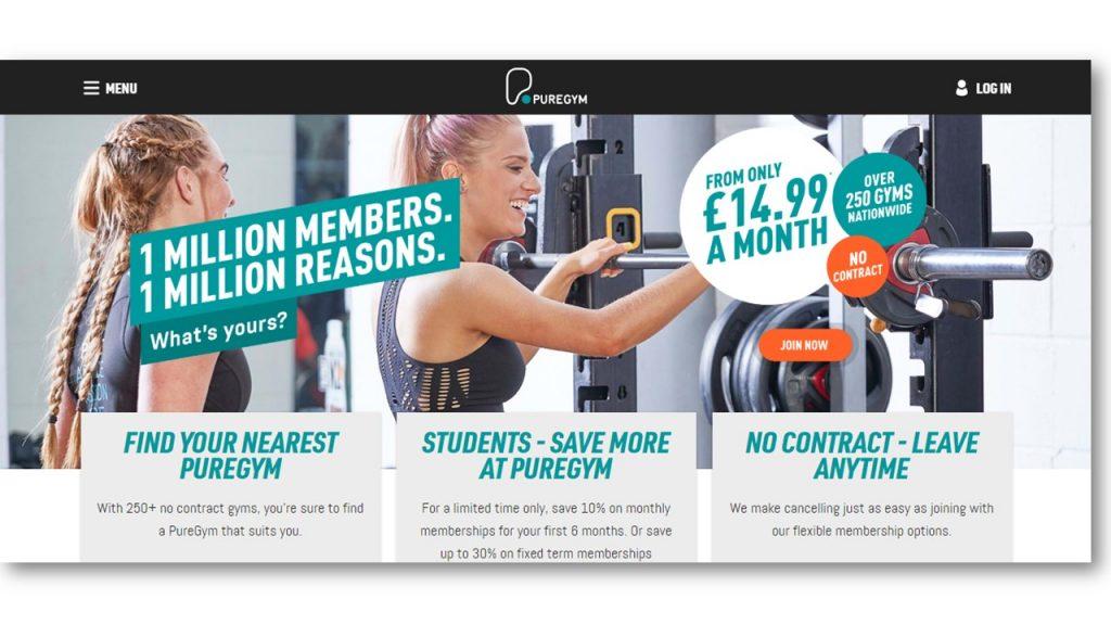 Gym Website Design Inspiration