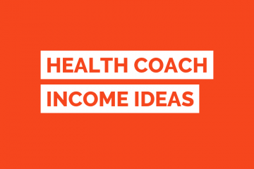 Health Coach Income Ideas Tile