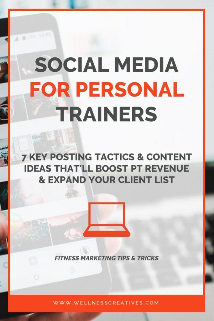 Personal Trainer Social Media Posts & Content Ideas