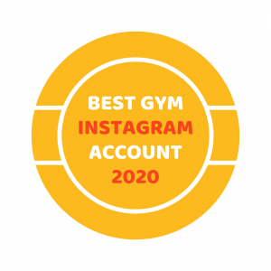 Gym Instagram Award Badge