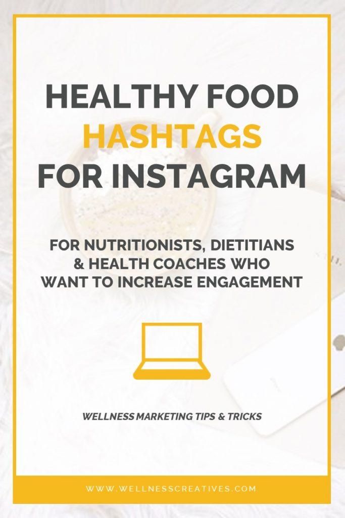 Nutrition Hashtags