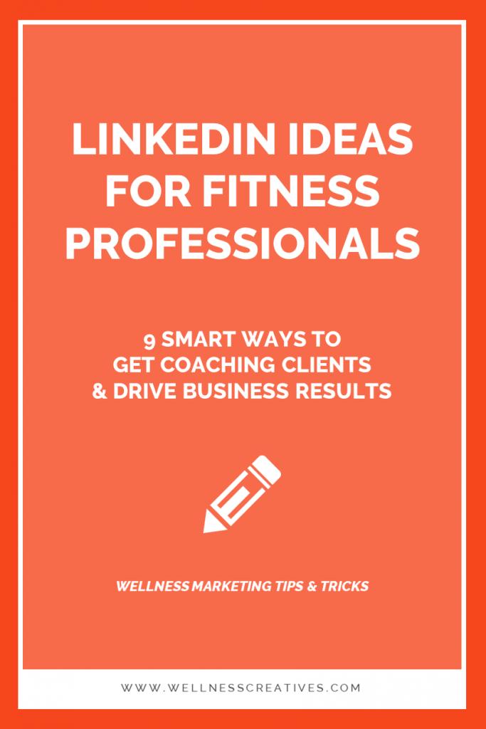 LinkedIn Health Wellness Professionals