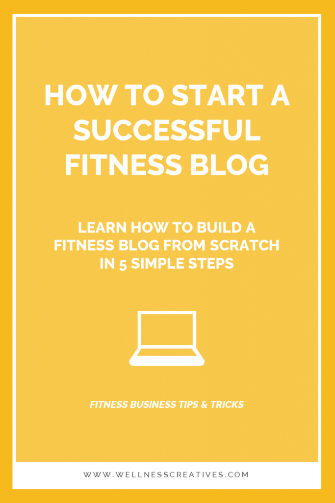 Start a Successful Fitness Blog
