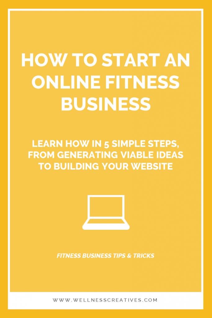 Starting An Online Fitness Business