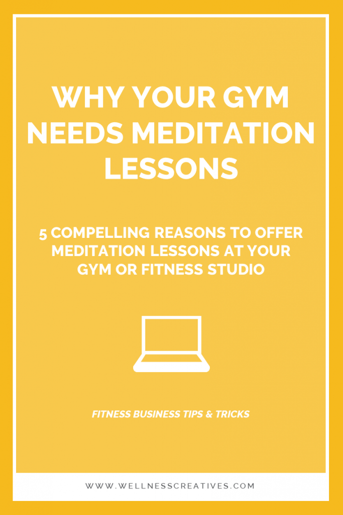 Meditation Gyms Fitness Studios