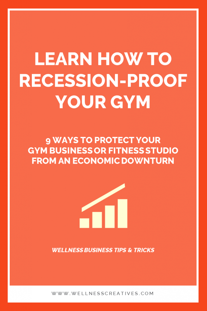 Protect Fitness Business From Recession