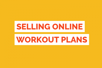 Sell Workout Plans Online