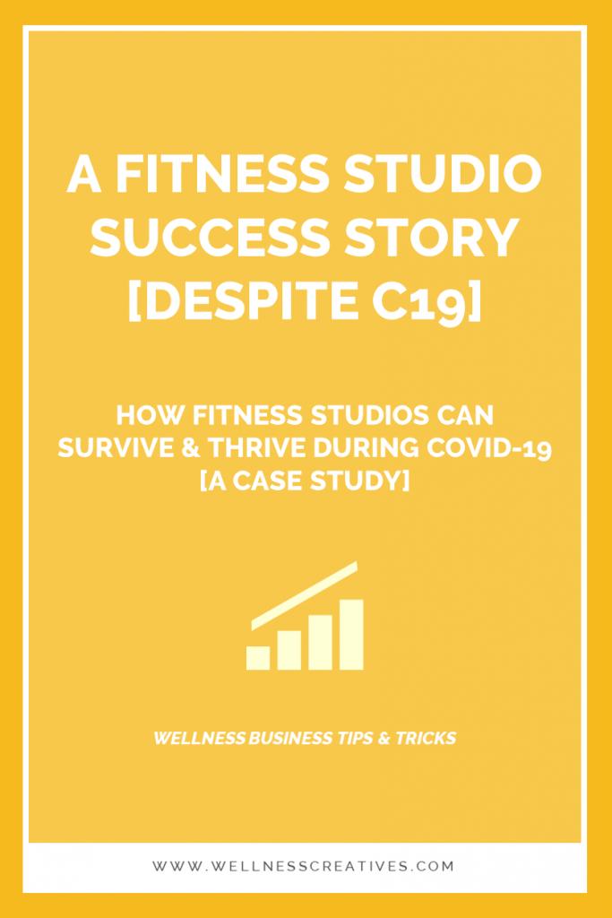 Fitness Studio Success Story Pinterest