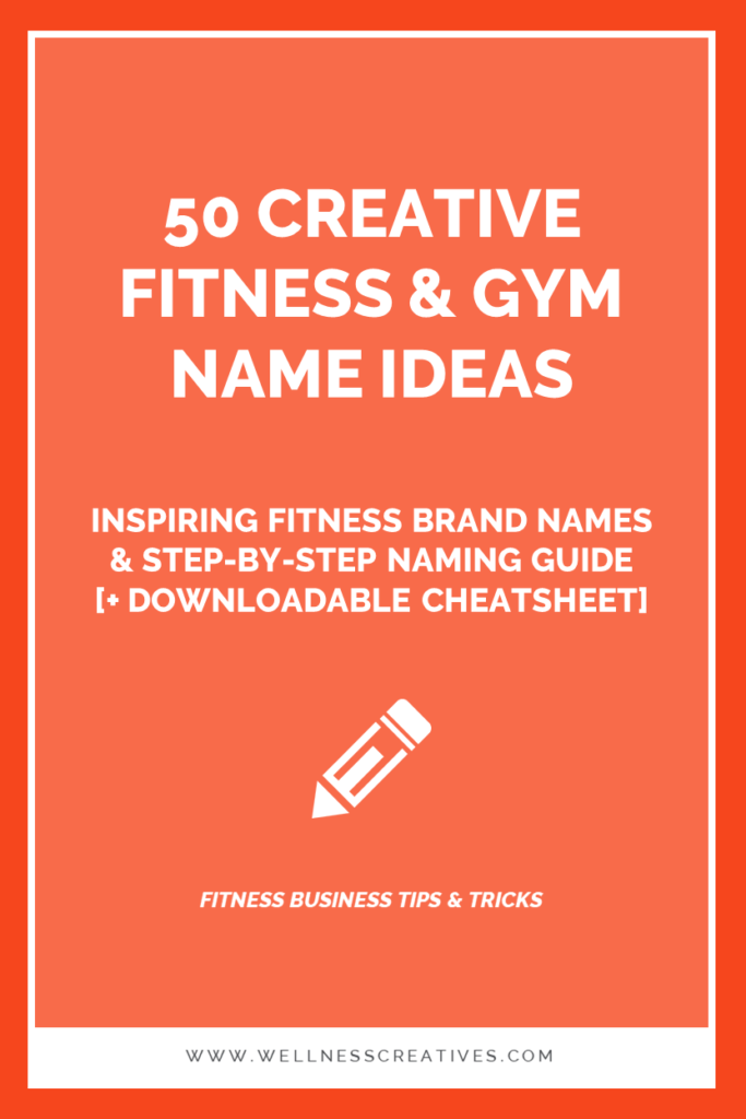 Gym Fitness Business Name Ideas