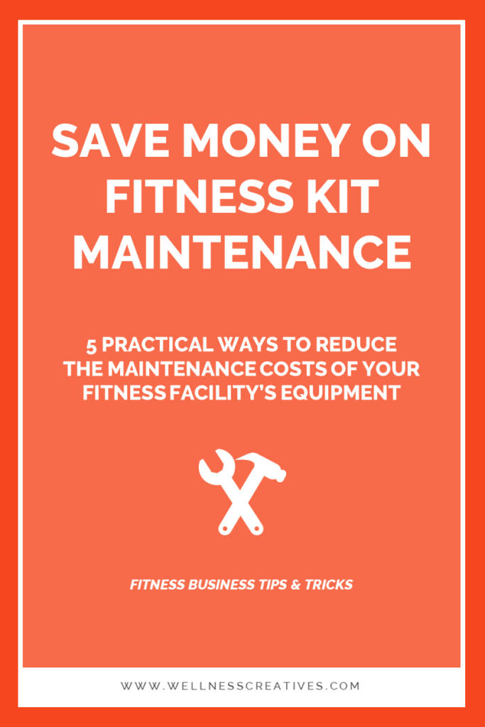 How To Save Money On Fitness Equipment Maintenance